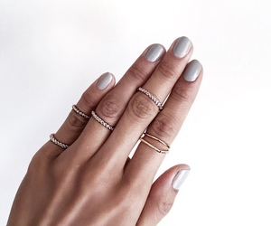 nails, accessories, and pretty image