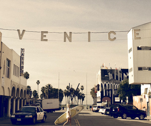 venice, summer, and california image