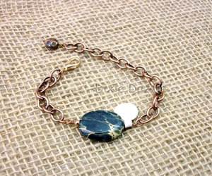 bracelet, etsy, and jasper image