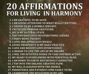 gratitude and affirmations image