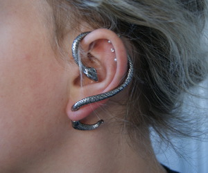 beautiful, earring, and perfect image