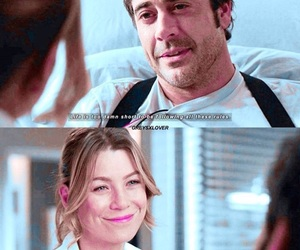 meredith grey, grey's anatomy, and denny duquette image
