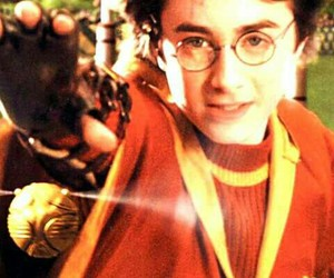 harry potter, magic, and quidditch image