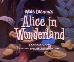 alice in wonderland, disney, and alice image