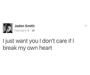 quotes, i don't care, and i just want you image