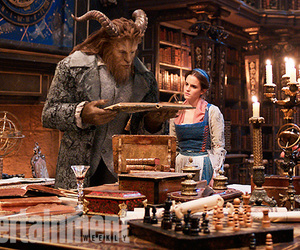 beauty and the beast, gaston, and walt disney image