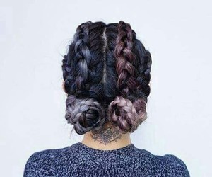 hairdo, trending, and color image