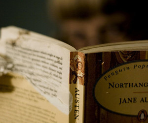 book, vintage, and jane austen image