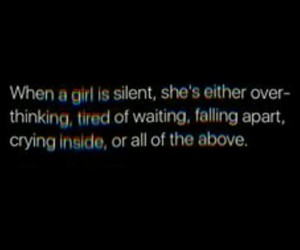 girls, quotes, and she image