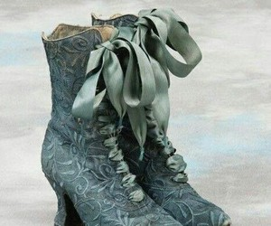shoes, boots, and victorian image