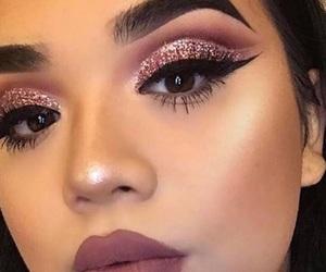 makeup, fashion, and girl image