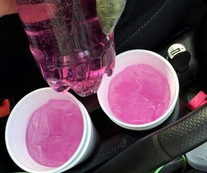 pink, drink, and cyber ghetto image