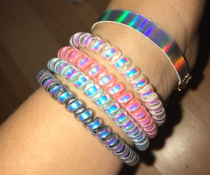 arco iris, chokers, and colores image