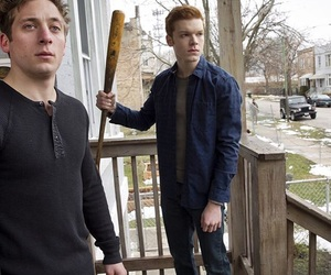 gallagher, lip, and shameless image