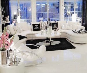 home, chanel, and luxury image
