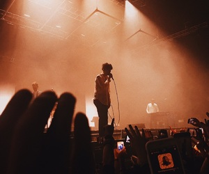 concert, the 1975, and matty healy image