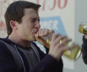 13 reasons why, clay jensen, and reaction image