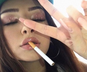 aesthetic, eyebrows, and goals image