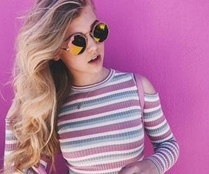 girl, loren, and blonde image