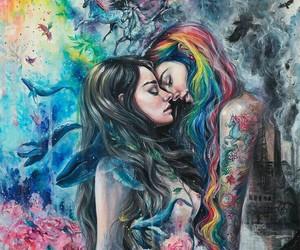 art, gay, and lgbtq image