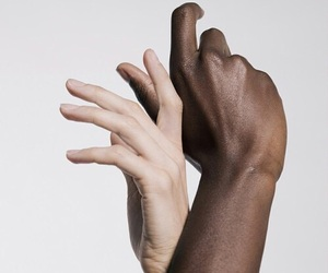 hands, aesthetic, and black image