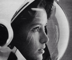 astronaut, space, and woman image