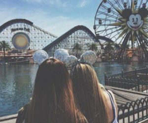 friends, disneyland, and tumblr image