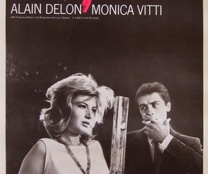Alain Delon, cinema, and Monica Vitti image