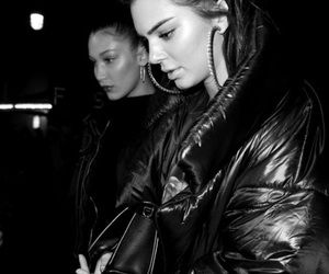 kendall jenner, model, and bella hadid image