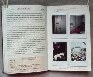 journal, diary, and inspiration image