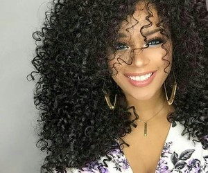 girl, haïr, and curly image