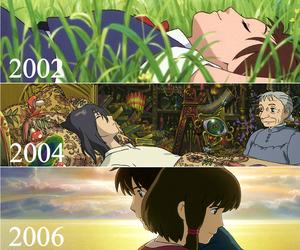 animation, ghibli, and manga image