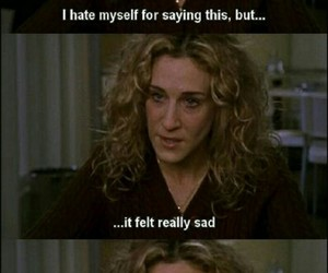 Carrie Bradshaw and sex and the city image