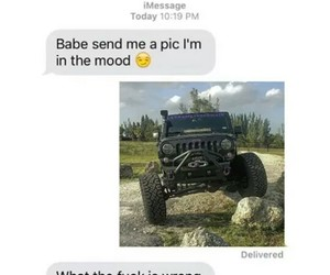 funny, jeep, and life image