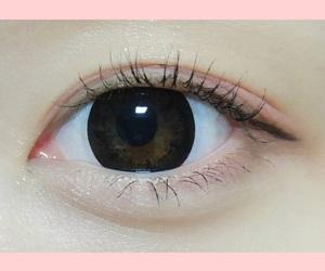 asian, eye makeup, and kawaii image