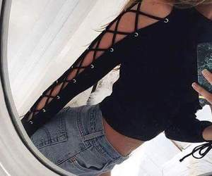 short, outfits, and look image