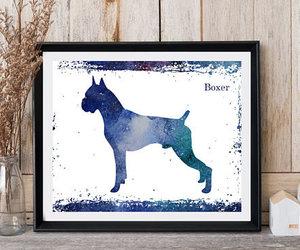 dog print, instant download, and dog artwork image