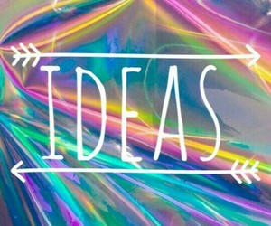 colours, galaxy, and ideas image