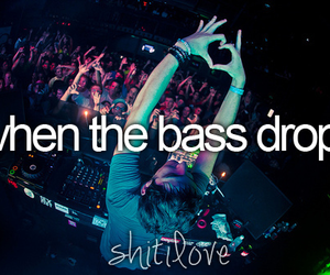 bass, music, and party image