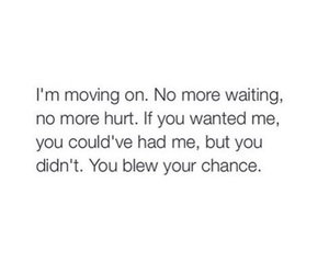 broken, chance, and moving on image