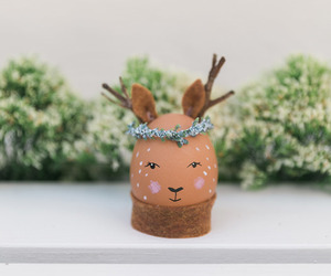 craft, deer, and diy image