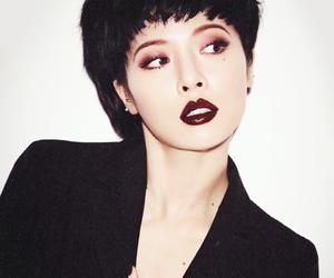 beautiful, black, and cute girl image