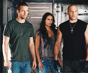 paul walker, Vin Diesel, and fast five image