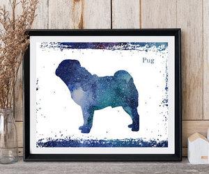 etsy, nursery decor, and dog wall art image