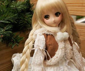 bjd, dollfie, and puppe image