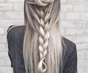 braids, giř, and curls image