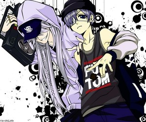 anime, undertaker, and black butler image