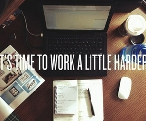 work, study, and hard image