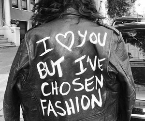 black, cool, and leather jacket image