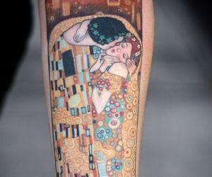 arm, Gustav Klimt, and klimt image